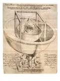 Kepler's Universe, 1596 Giclee Print by Johannes Kepler