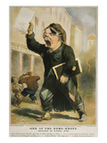 Newsboy Shouting, 1847 Giclee Print by  Sarony & Major