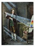 Sir Isaac Newton Premium Giclee Print