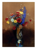 Redon: Wild Flowers, C1912 Giclee Print by Odilon Redon