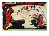 Russia: Anti-Capital, 1920 Prints by Viktor Nikolaevich Deni