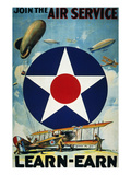 World War I: Air Service. Giclee Print