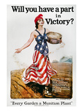World War I: U.S. Poster Giclee Print by James Montgomery Flagg