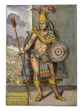 Montezuma Ii (1480-1520) Posters