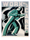 New Deal: Wpa Poster Giclee Print by Robert Muchley