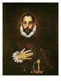 El Greco: Gentleman Giclee Print by  El Greco
