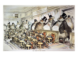 Cartoon: Anti-Trust, 1889 Premium Giclee Print by Joseph Keppler