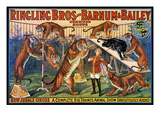 Circus Poster, 1920S Giclee Print