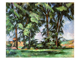 Cezanne: Trees, C1885-87 Giclee Print by Paul Cézanne