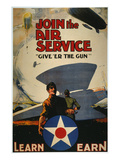 World War I: Air Service Poster