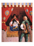 Wyeth: Robin Hood & Marian Giclee Print by Newell Convers Wyeth