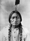 Sitting Bull (1834-1890) Fotografisk tryk