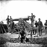 Civil War: Union Artillery Photographic Print