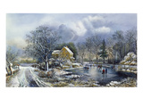 Early Winter, 1869 Giclee Print by Currier & Ives