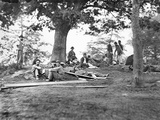 Civil War: Wounded Photographic Print by Mathew Brady