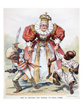 Imperialism Cartoon, 1896 Giclee Print by J.s. Pughe