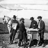 Civil War: Union Camp, 1863 Fotografisk tryk af Alexander Gardner