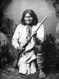 Geronimo (1829-1909) Papier Photo