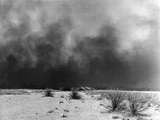 Drought: Dust Storm, 1936 Photographic Print