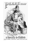 Pears' Soap Ad, 1887 Giclee Print