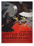World War I: Air Service Giclée-tryk