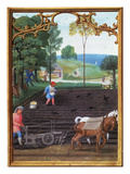 Book Of Hours, C1515 Poster
