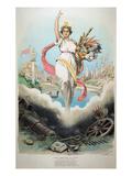 Atlanta Exposition, 1895 Posters by Grant Hamilton