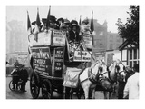 London: Suffragettes, 1909 Giclee Print