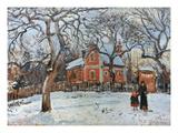 Pissarro: Trees, C1872 Reproduction giclée Premium par Camille Pissarro