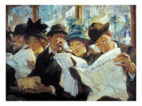 Mora: Morning News, C1912 Giclee Print by Francis Luis Mora