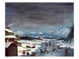 Toole: Skating, 1835 Giclee Print by J. Toole