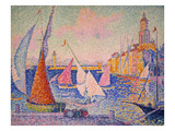 Signac: St. Tropez Harbor Prints by Paul Signac