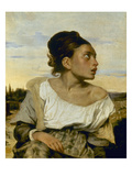 Delacroix: Orphan, 1824 Giclee Print by Eugene Delacroix