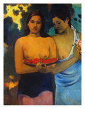 Gauguin: Two Women, 1899 Giclee Print by Paul Gauguin