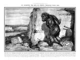Neanderthal Man Giclee-trykk av Frantisek Kupka