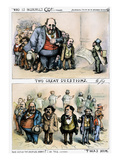 Nast: Tweed Corruption Prints by Thomas Nast
