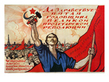 Russian Revolution, 1922 Giclee Print by Ivan Simakov