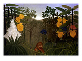 Rousseau: Lion Prints by Henri Rousseau
