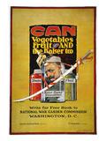World War I: U.S. Poster Giclée-Druck von Jozef Paul Verrees