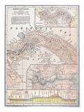 Map: Panama, 1907 Giclee Print