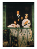 Manet: The Balcony, 1869 Art by Édouard Manet
