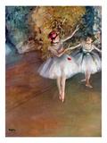 Bailarinas, cerca de 1877 Impressão giclée por Edgar Degas