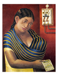 Ruiz: Lottery Ticket Seller Giclee Print by Antonio Ruiz