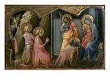 Adoration Of The Kings Giclée-tryk af Lorenzo Monaco