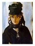 Berthe Morisot (1841-1895) Print by Édouard Manet