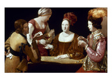 La Tour: The Cheat, C1625 Giclee Print by Georges de La Tour