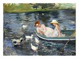 Cassatt: Summertime, 1894 Reproduction giclée Premium par Mary Cassatt