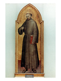 St. Francis Of Assisi Prints by Giovanni Da Milano