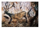 Lascaux: Running Deer Prints