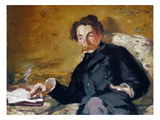 Stephane Mallarme Giclee Print by Edouard Manet